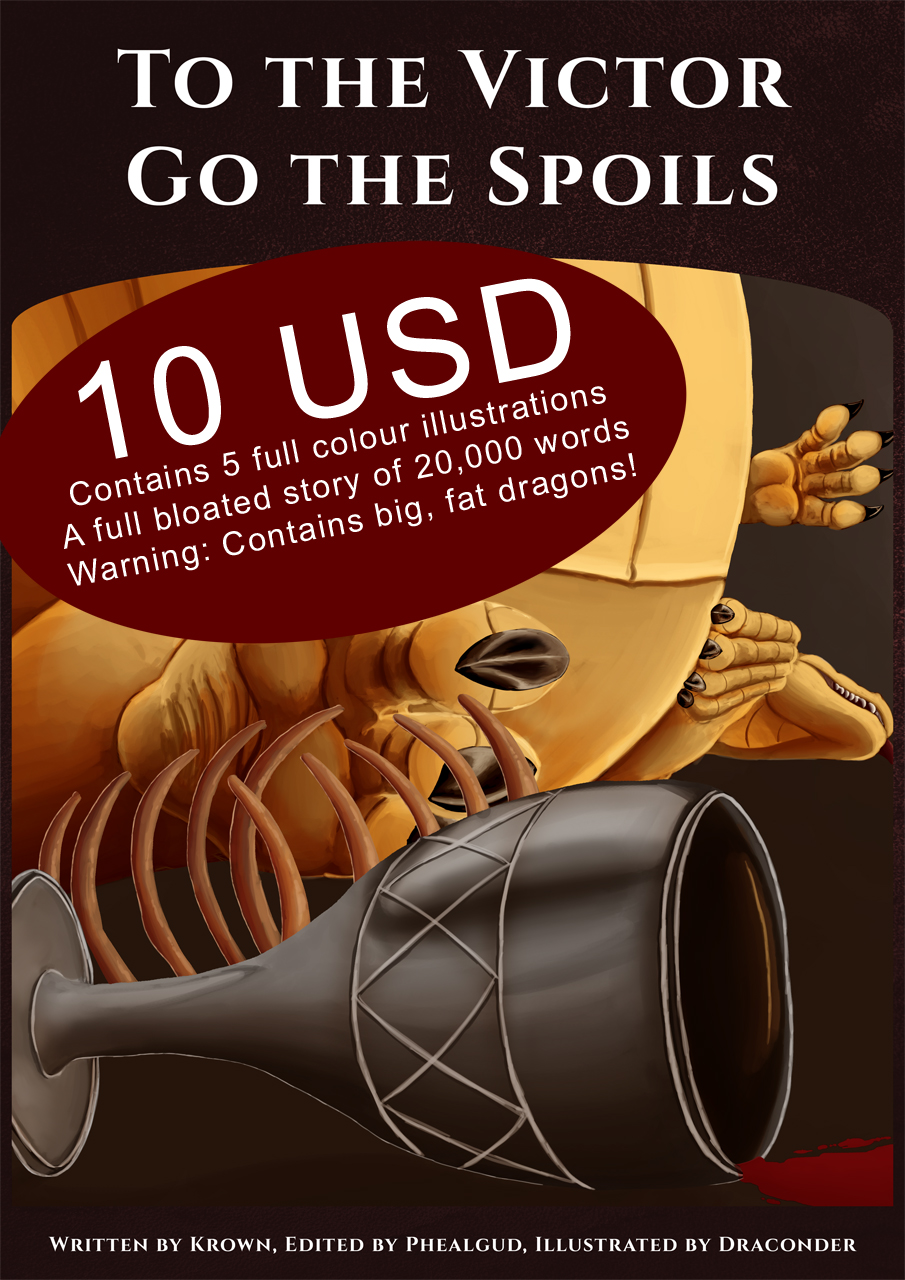 To the Victor Go the Spoils, Illustrated Story on Sale!