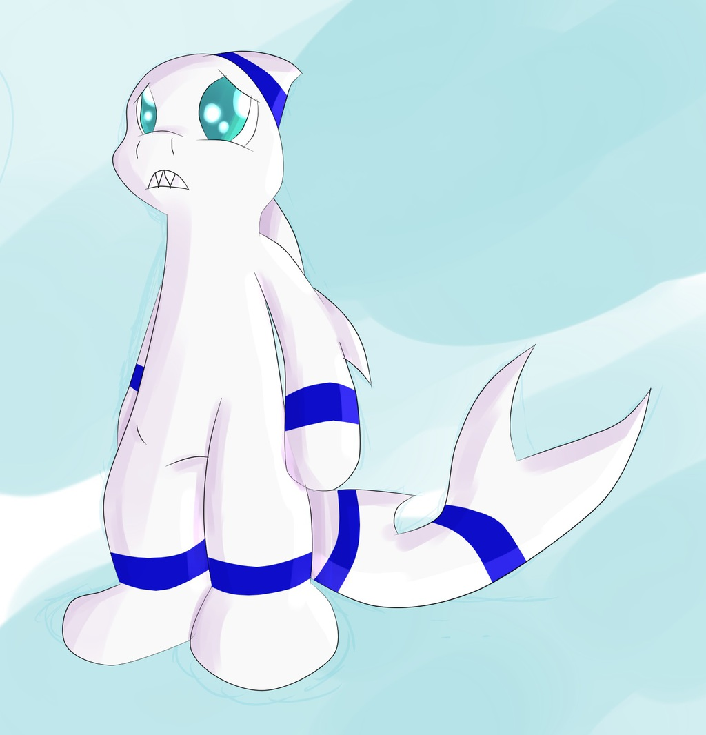 Most recent image: Mist's shark form