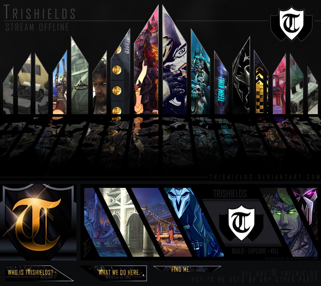 Trishields Twitch Display