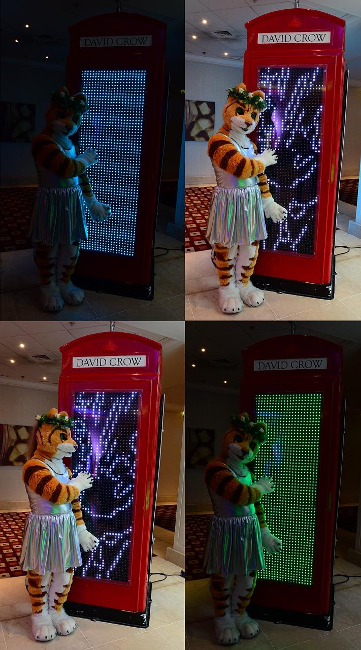 Leinir & The Glowy Phonebox