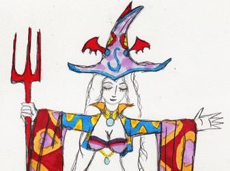 Queen Halja's third alternate outfit