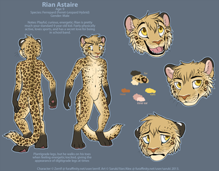 Rian Reference Sheet Commission