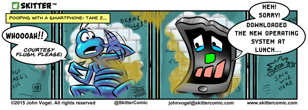 """SKITTER - """"Pooping With A Smartphone 2"""""""