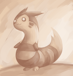 May 23rd Furret Paint