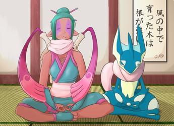 忍者黙想 -- Shinobi Meditation