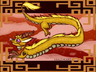 (RWBY) Yang Dragon