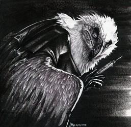 Inktober #16: Vet for the Insane