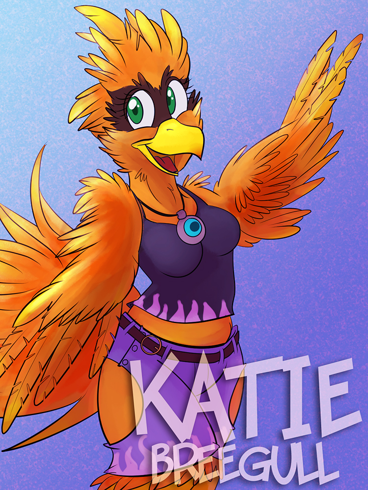 Katie Breegull Badge
