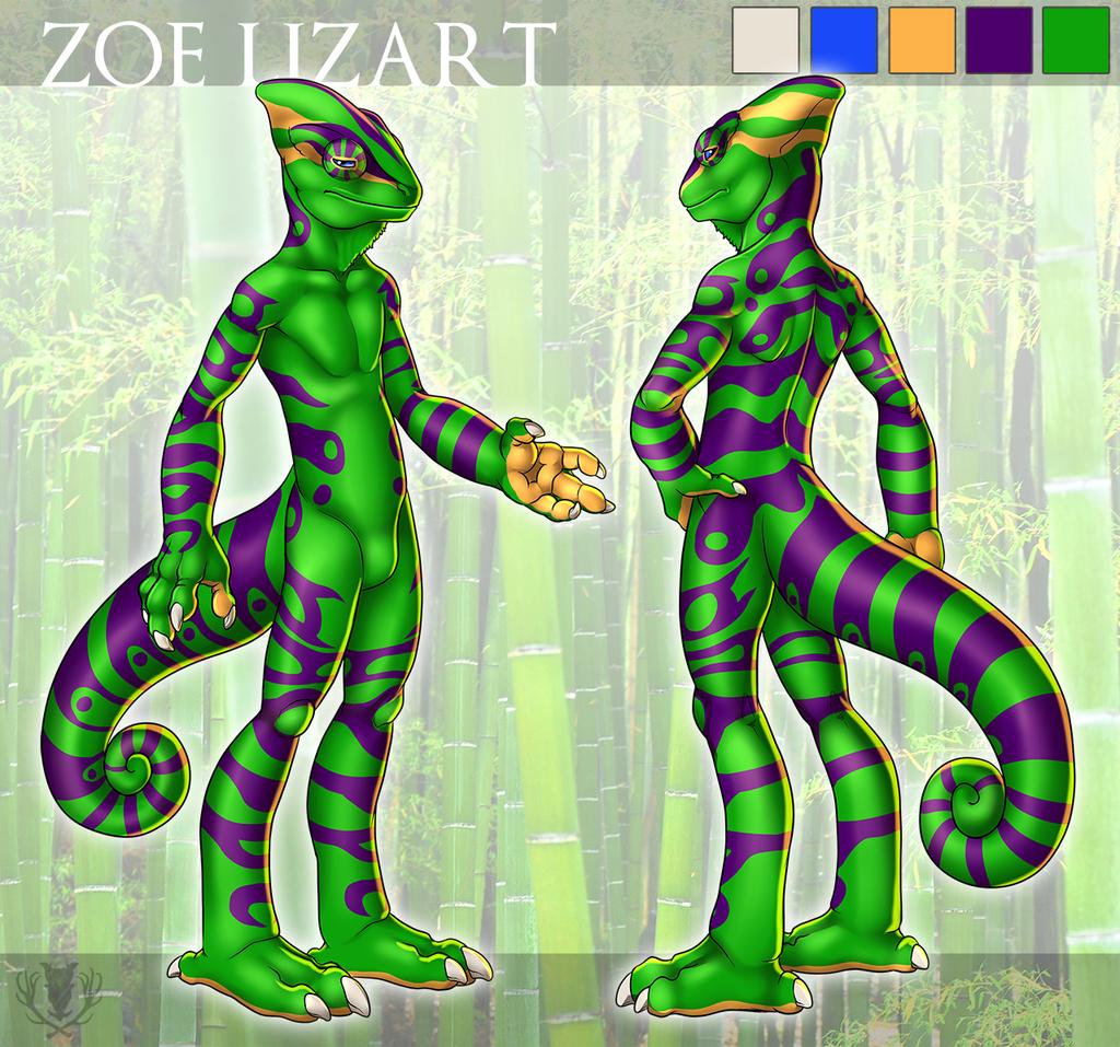 Most recent image: Zoë Lizart Reference Sheet
