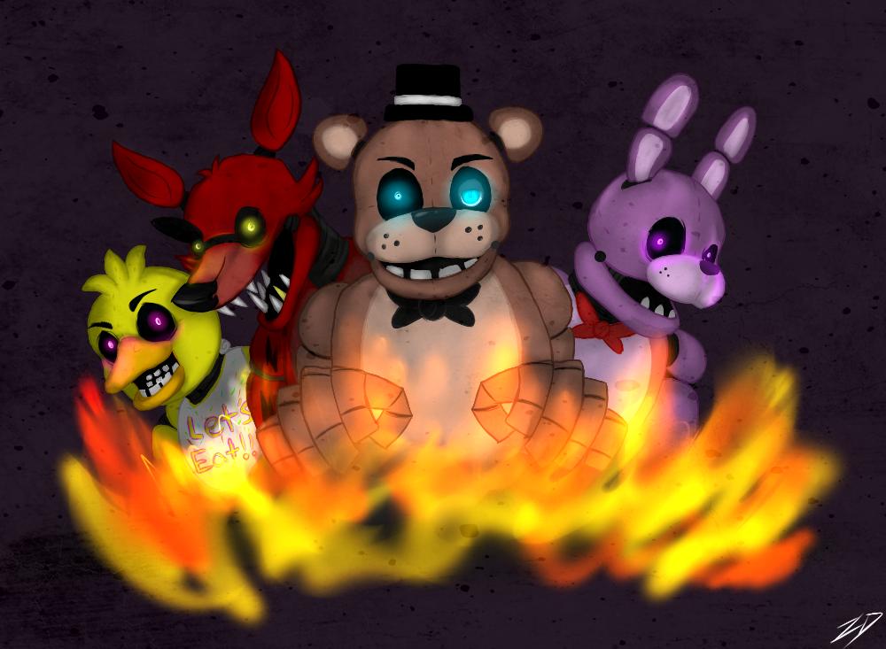 [FNAF][final!] I hope you die in a fire