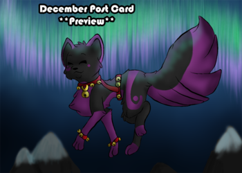 December Post Card