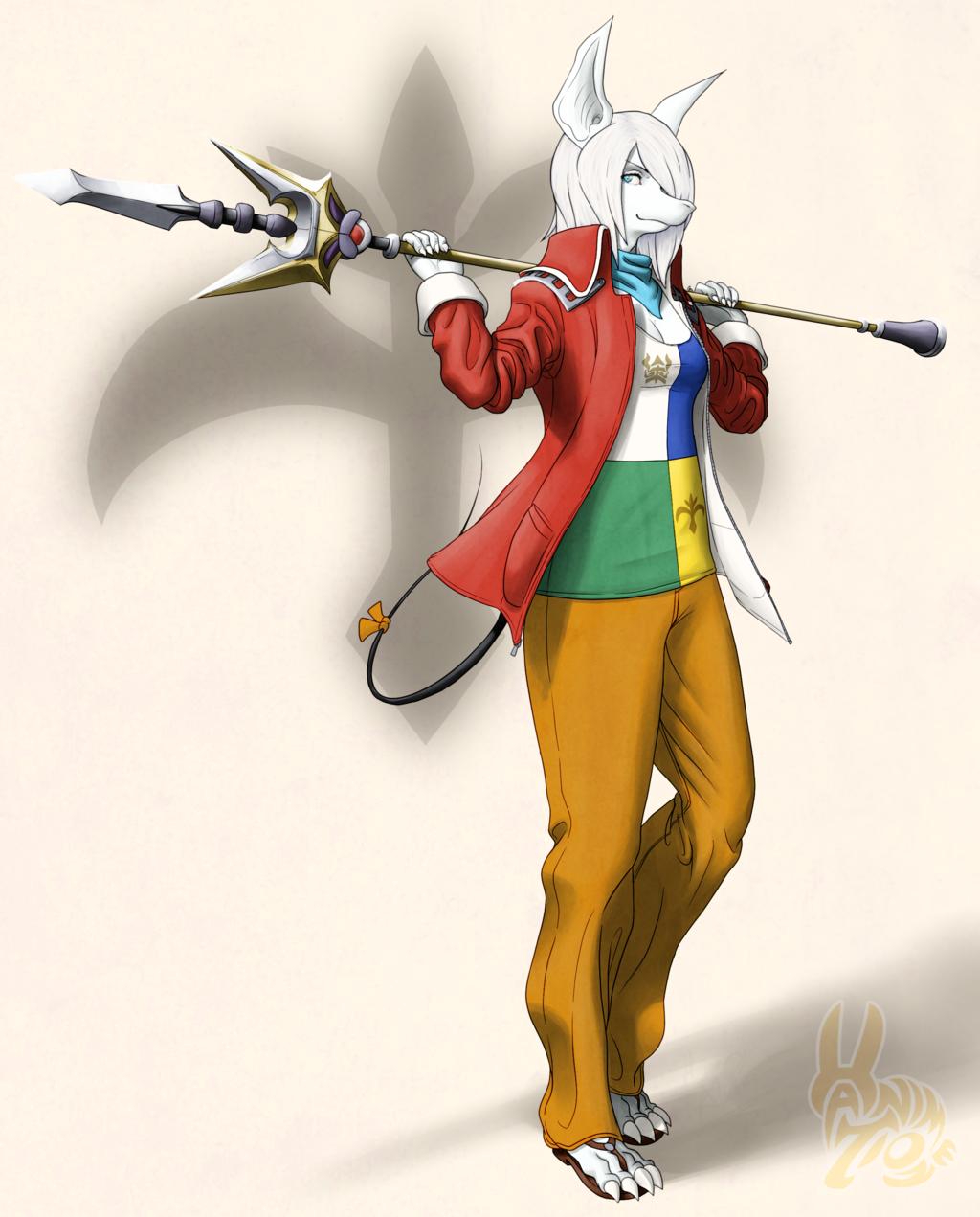 Fashion Fantasy 9 - Dragoon