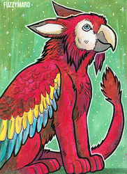 Parrot gryphon