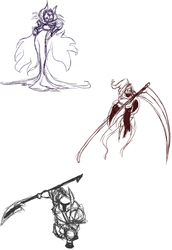 Shovel Knight sketches