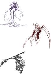 Shovel Knight sketches
