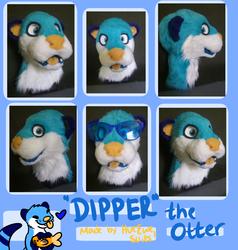 Dipper fursuit Head