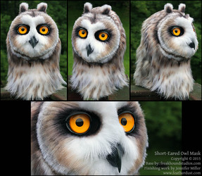 Short-Eared Owl Mask