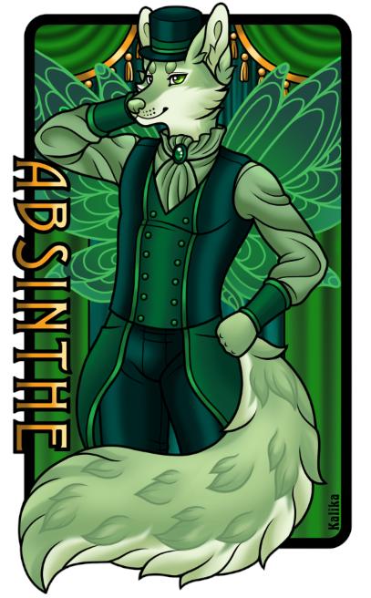 Badge - Absinthe