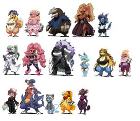 Bittenhard - Batch1 Pokémon