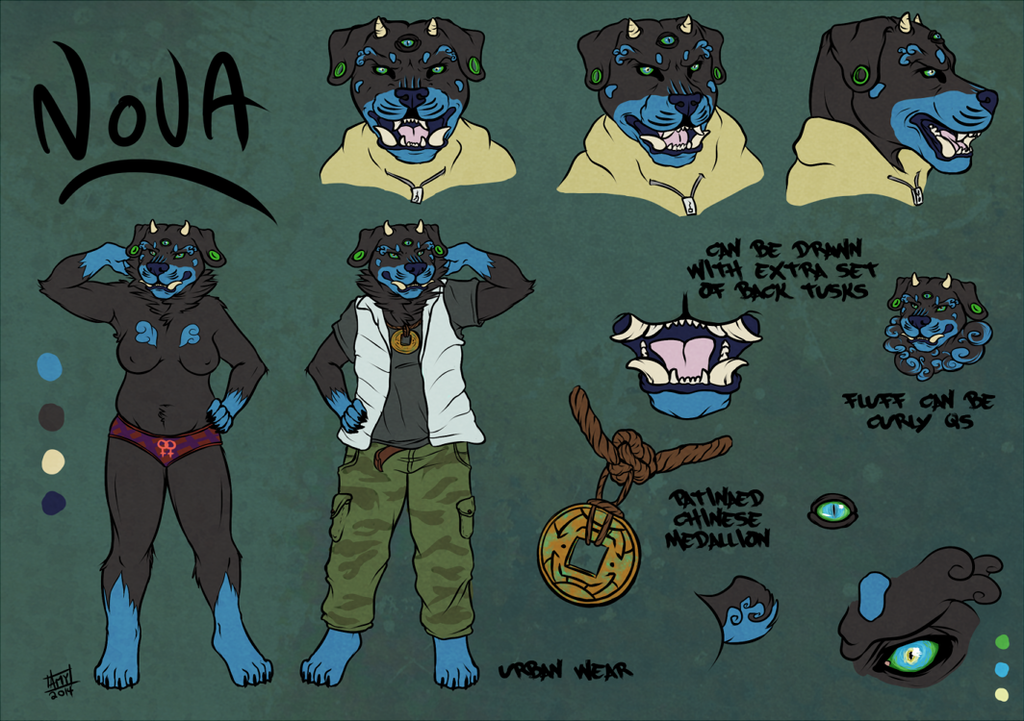 Nova the Foo Rottweiler
