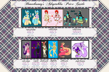 adopts price guide