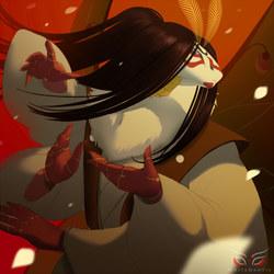 Blade Under Mask Portrait: Tetsuo