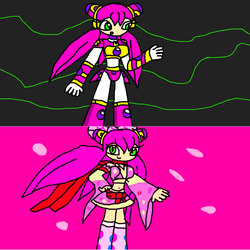 Reploid and Ninja Luna