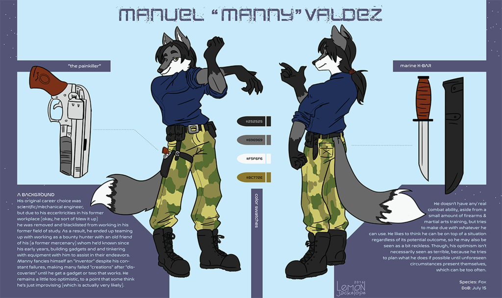 [c] Zorro Reference Sheet