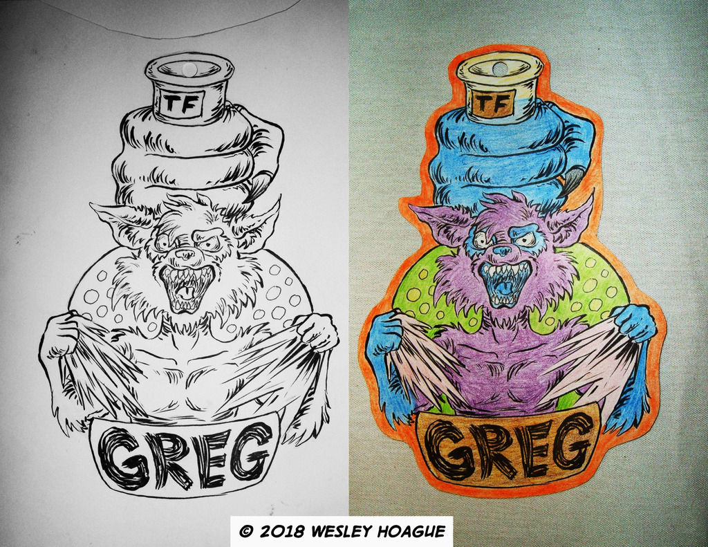 Most recent image: Greg TF Badge