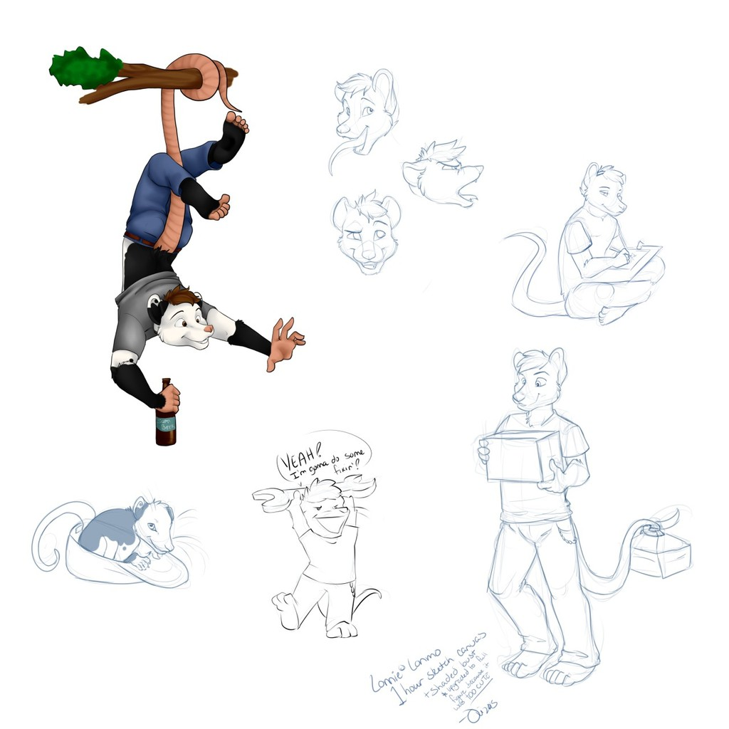 Lonnie doodles!