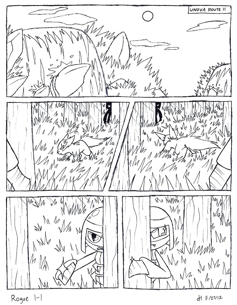 Rogue 1-1 Sketch