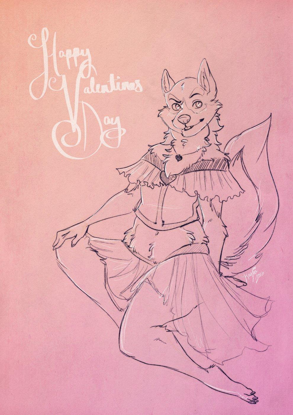 Featured image: Valentine cutie (by Kaylii)
