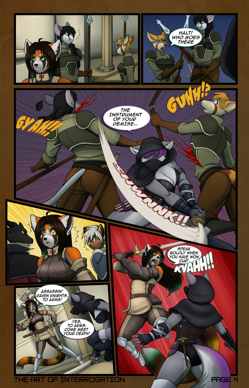 The Art of Interrogation; Page 4