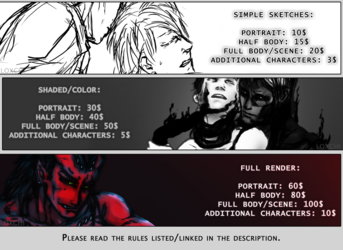 [Commission Prices]