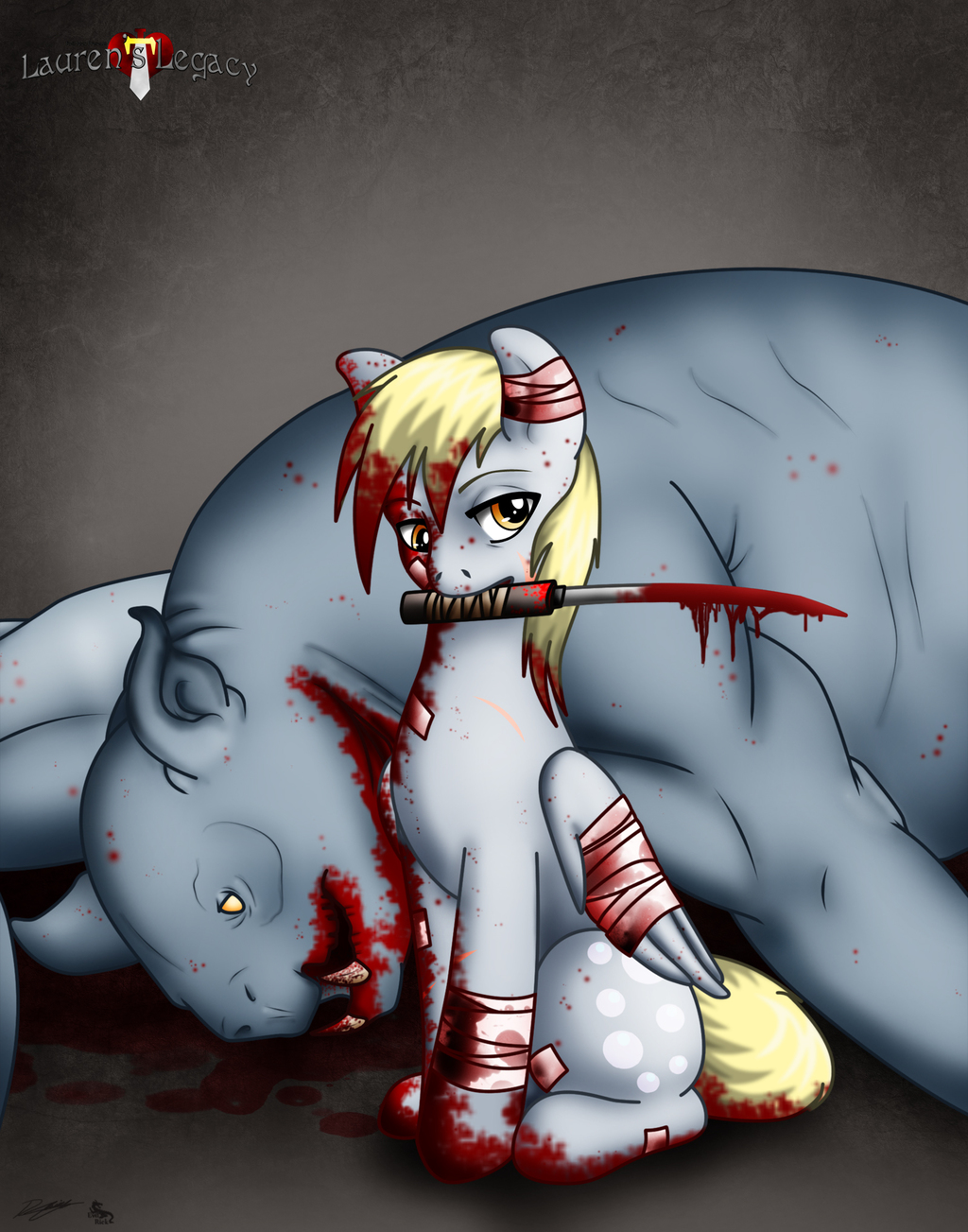 Derpy goes bad-ass