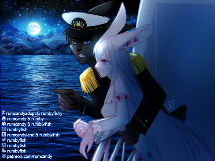 Furryscape: Out at Sea