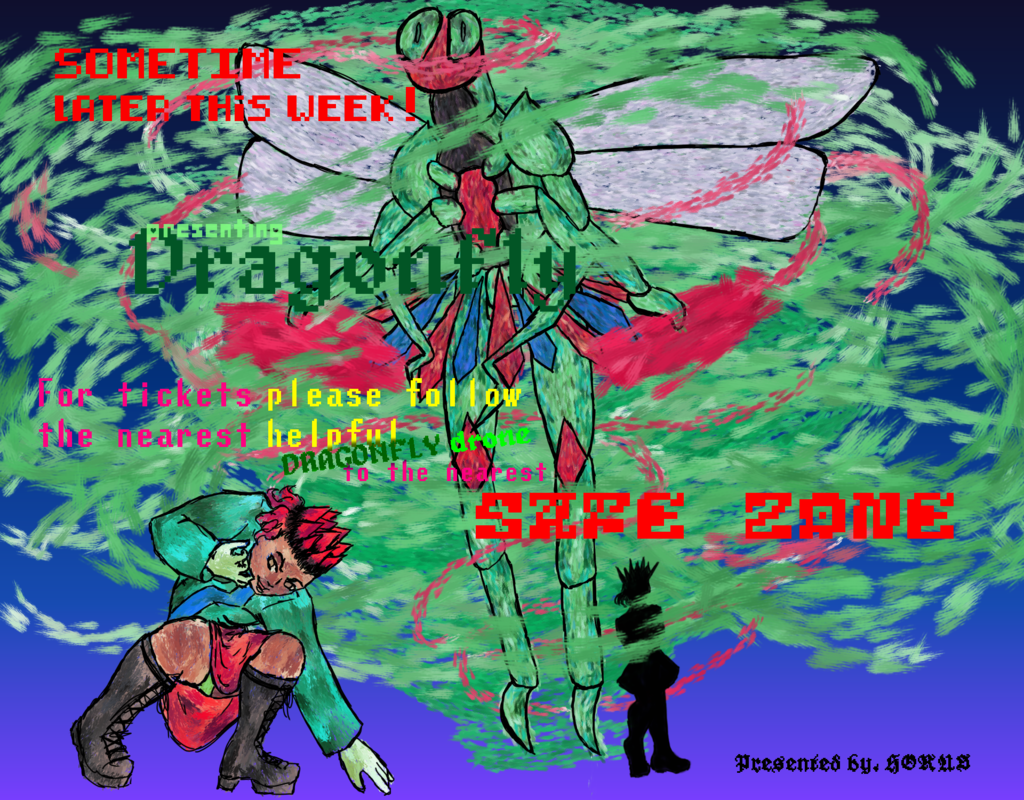 Most recent image: Dragonfly