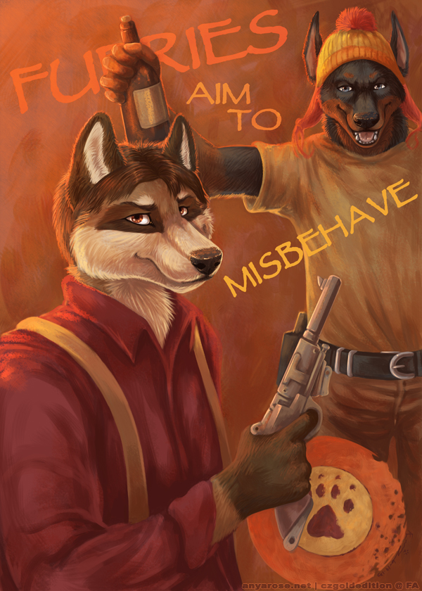 Most recent image: Furries Aim To Misbehave.