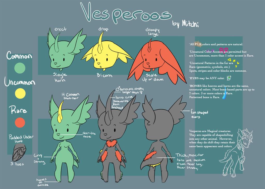 Vesperoo Species Sheet
