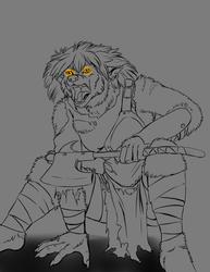 12/07-Draw a Werewolf Day