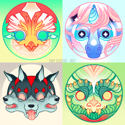 Mythical Creatures (Set 2)