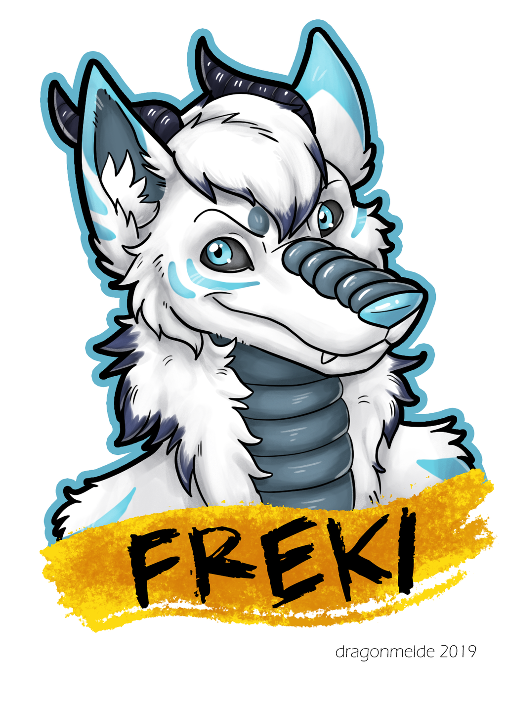 Freki Badge