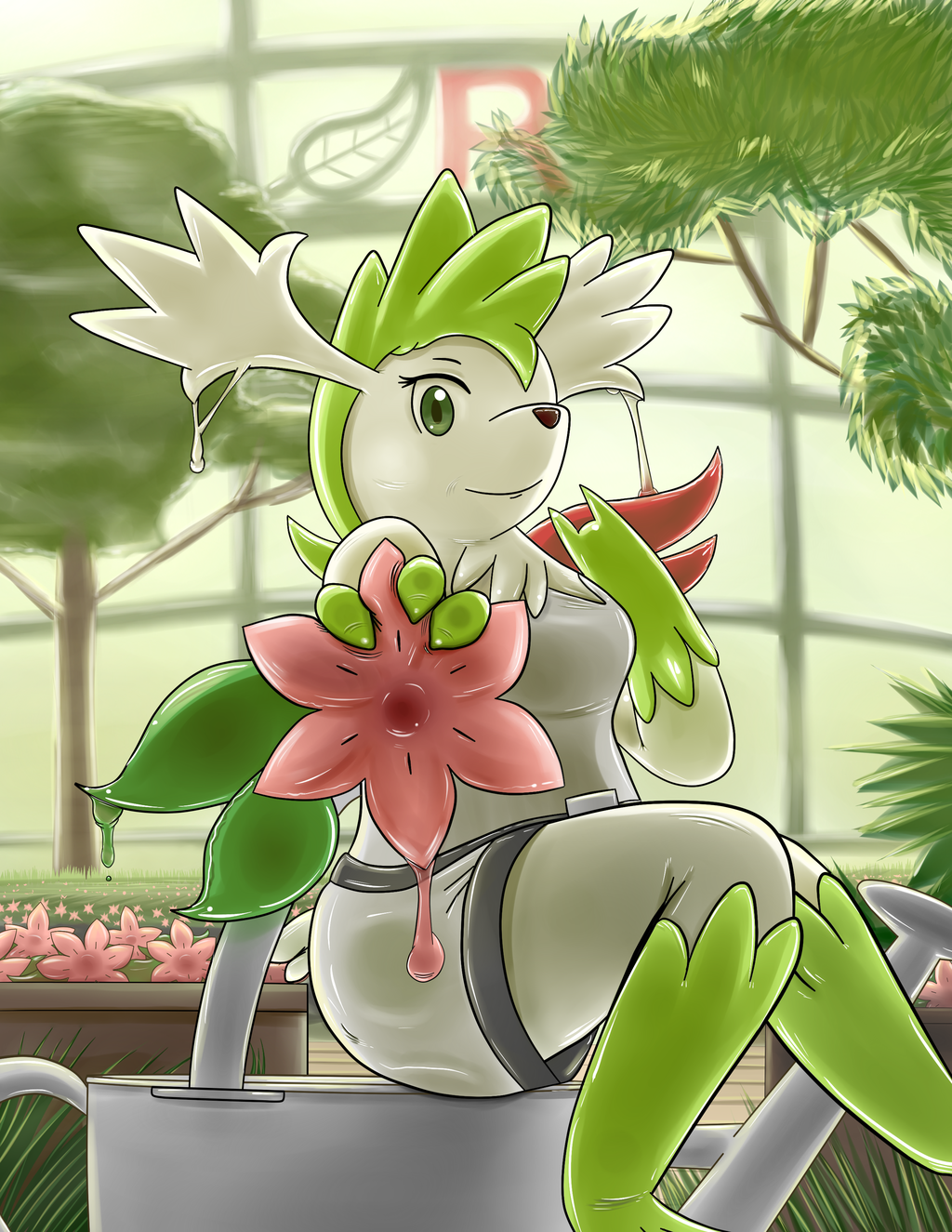 Rubber Shaymin Transformation - Once Like You
