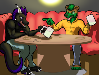 Drinking with Friends [Comm]