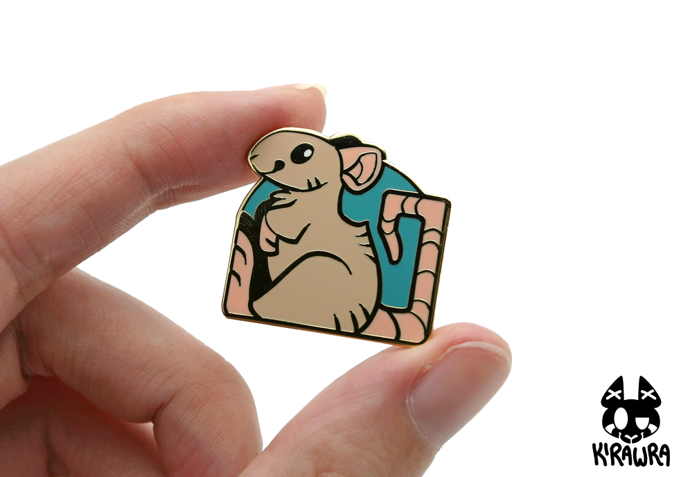 Pet Rat Pin