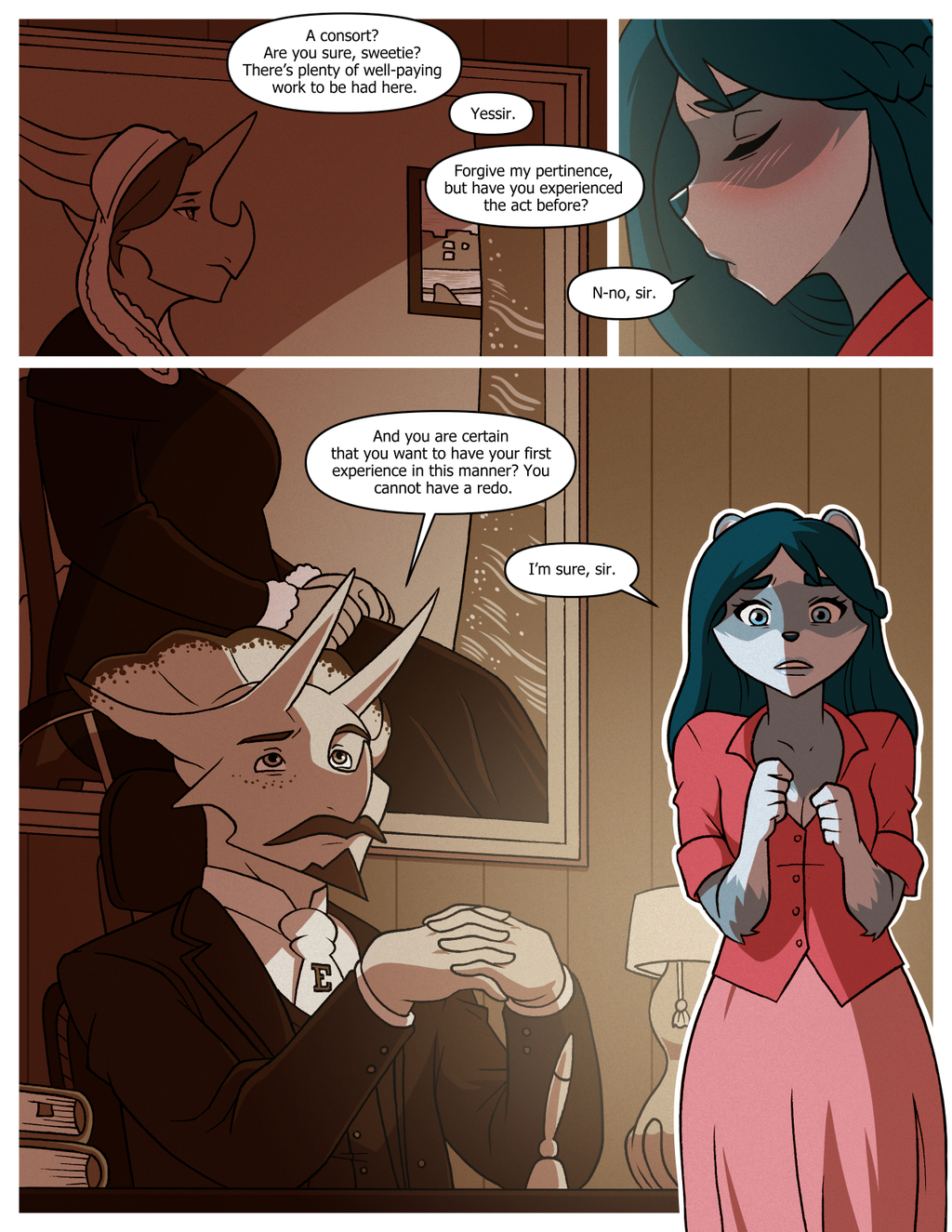 Most recent image: Pleasure Paws Ch1 - Pg06