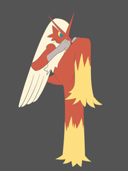 Blaziken is ready to fight