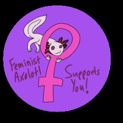 Feminist Axolotl