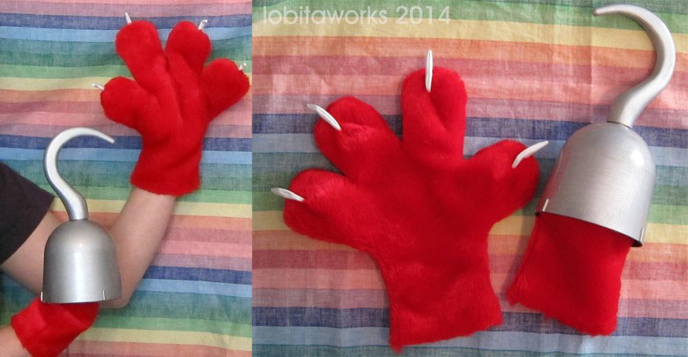 Fnaf Foxy Hands Weasyl