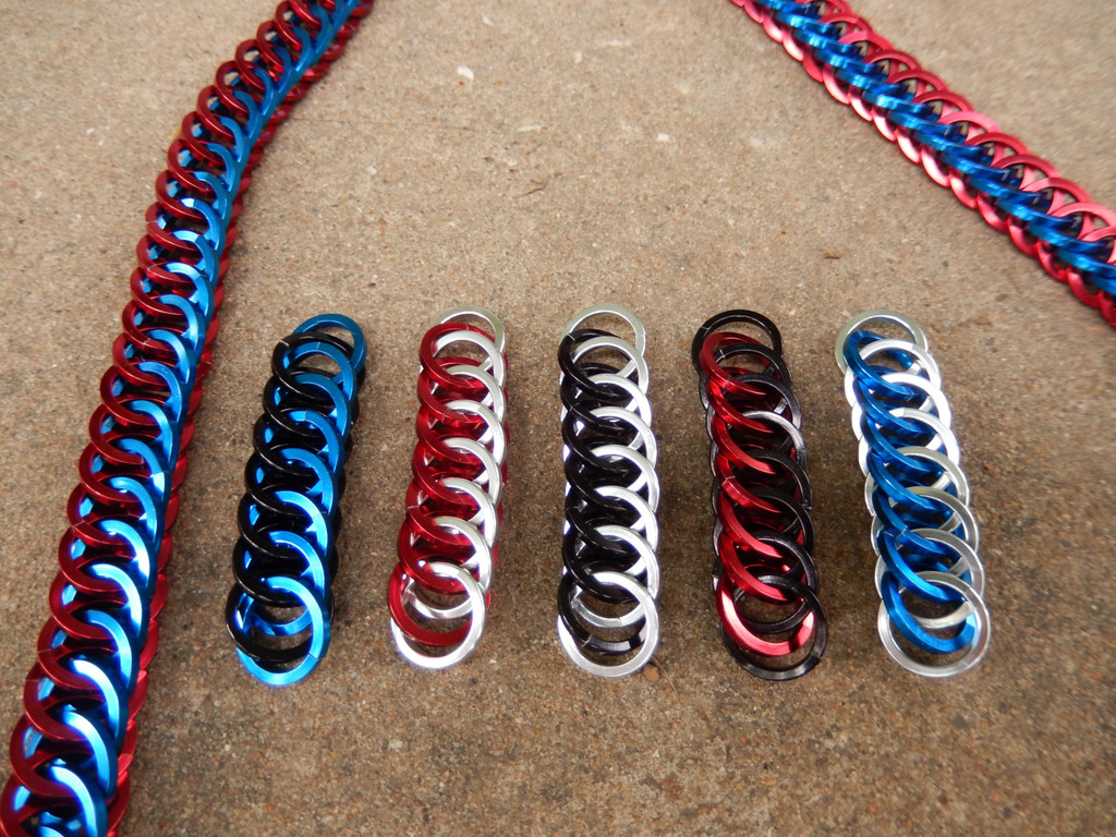"""Maille Projects - """"Ropes"""" in M:tG Guild colors"""